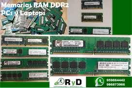 Memorias RAM DDR2 512MB