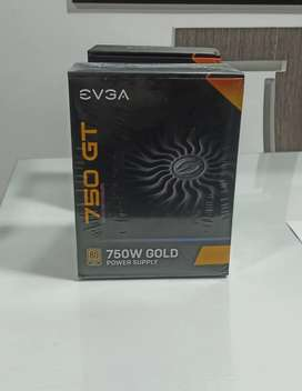 Fuente De Poder 750w 80 Plus Gold Evga Supernova Modular nueva