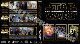 Star Wars Trilogía Original Bluray HD.
