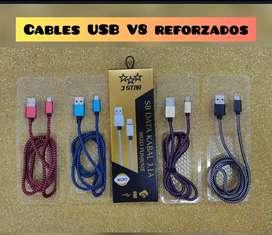 Cables USB tipo c en caja