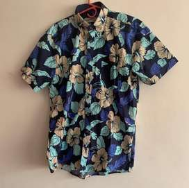 Camisa manga corta Estampado florar Luis Barton
