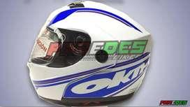 Casco Rebatible Doble Visor Okn oferta!!  Paredesbiker
