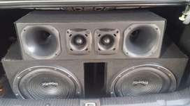 Permuto Equipo de Audio por Moto Doy Dif