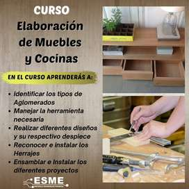 Curso Elaboración de Muebles y Cocinas integrales