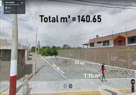 ¡OCACION!️ SE VENDE TERRENO BIEN UBICADO DE 140.65 m² EN EL DISTRITO DE SANTA MARIA DE HUAURA, PROVINCIA DE HUACHO