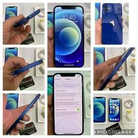 IPHONE 12 BLUE 128G , 10/10 , BATERIA AL 97% CAJA,CABLE Y CARGADOR