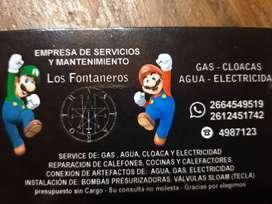 Servicio y mantenimiento