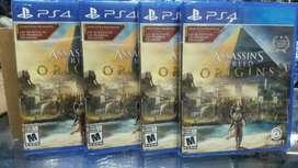 Assassins Creed Origins Ps4 Nuevo Sellado Stock