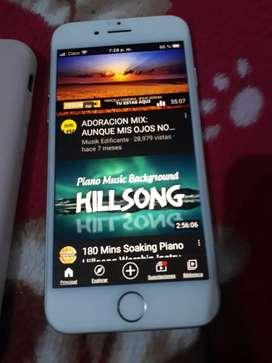 Iphone 7 32gb con audífonos inalambricos