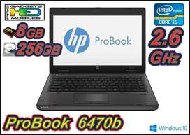 HP 6470B IC52.6 8GB 256GB A TAN SOLO 999 HED PRO DIVISION INFORMATICA PROFESIONAL DE  HED ELECTRONICS
