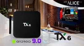 VENDO SMART ANDROID PORTATIL Tanix TX6 4K UHD Android TV BOX MEJORADO EN RAPIDEZ   4 GIGAS DE RAM Y 32 GIGAS INTERNA