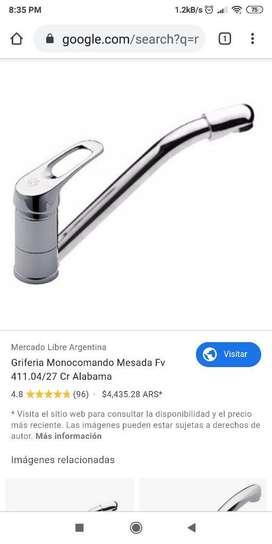 Griferia Monocomando alabama Fv