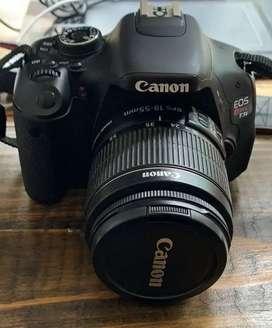 Vendo cámara canon T3 rebel