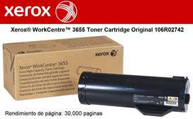 Toner Xerox Work Centre 3655 (106r02742) Original - 30.000 PAGINAS