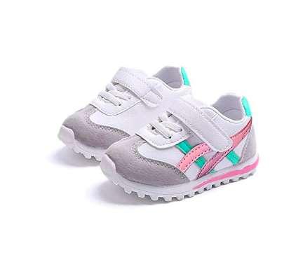 Zapatos Tenis Para Bebe / Niña- Rosados 0