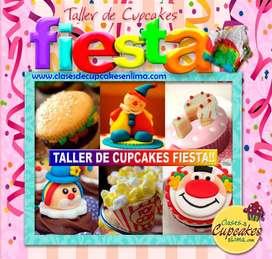Clases de Cupcakes Fiesta