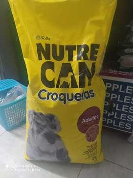 Alimento para mascotas  nutre can croquetas