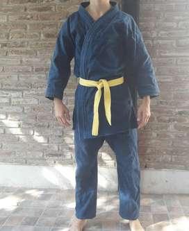 Judogi Azul Grueso