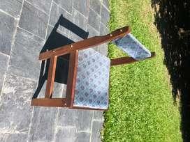 silla madera juego de 4