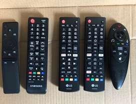 Control remoto tv lg , tv samsung