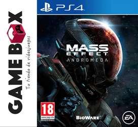 Mass Effect Andromeda Ps4 - Disco Fisico - Nuevo De Paquete