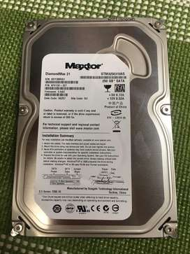 Disco duro 250 GB SATA Maxtor DiamondMax 21