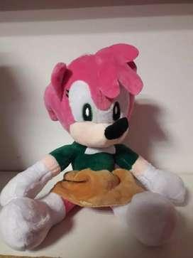 Peluche Amy Rose de Sonic