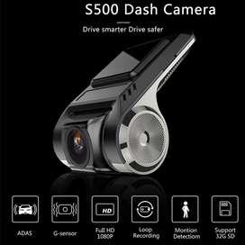 Cámara, filmadora para vehículo 1080p USB, visión nocturna, ADAS DVR, Dash  Precio:104.00 soles.