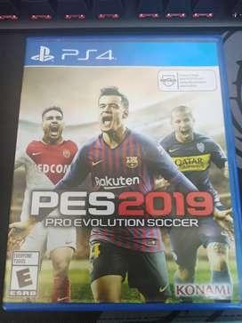 PES 2019 Juego PS4 - Seminuevo
