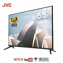 """Televisores de 55"""" UHD 4k marca JVC"""