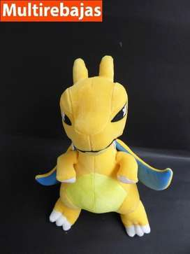 Peluche Pokemon Charizard Amarillo