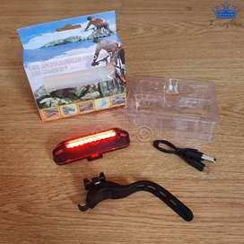 Faro Bicicleta Led Usb Light Recargable Luminoso Deporte