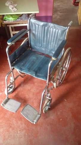 Vendo silla de ruedas en exelente estado
