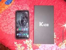 Vendo mi celular LG K40 S, Imeil original