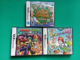 Juegos Nintendo DS Mario & Luigi Partners in Time Animal Crossing Yoshi's Island