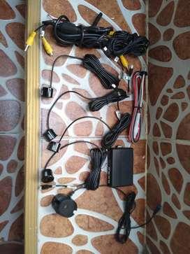 Cámara vehicular kiit sensores pito de panico  nuevos