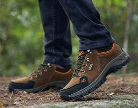 Qi Feng - botas de explorador para Otoño/Invierno en cuero de gamuza