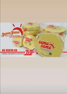 Se busca distribuidor para la ciudad de santo domingo que distribuya discos de empanadas con experiencia en ventas