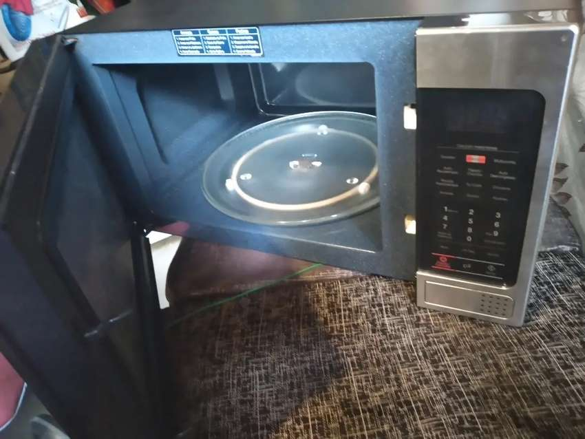 Microondas Chef Samsung con dorador 0