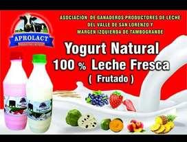 yogurt 100% natural