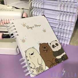 Cuaderno Personalizado| By Geanella.
