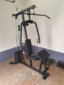 Cabina máquina ejercicio