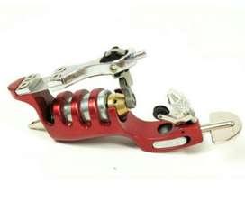 Maquina de Tatuar Rotativa Rojo Metal