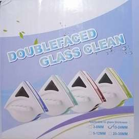 Limpiador de ventanas doble cara + Limpiador de vidrios