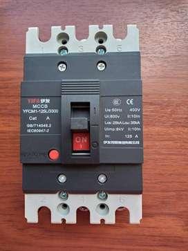 Breaker 125 Amperio 3P 440V 60 Hz YIFA MCCB