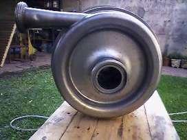 Bomba Alfa Laval de 11 Kva. Con motor