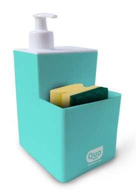 Dispenser de detergente incluye esponja