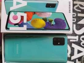 Venso celular Samsung galaxi A51 totalmente nuevo con garantia
