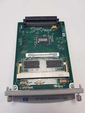 TARJETA FORMATER BOARD PLOTTER HP DESIGNJET 510 HP GL/2 Accessory Card