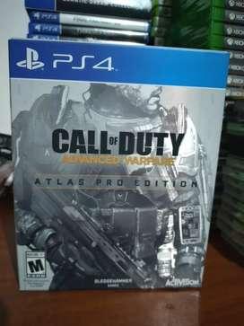 COD advanced warfare atlas pro edition PS4